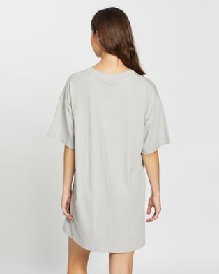 Nana Judy Authentic Tee Dress - Dresses (Silvermist)