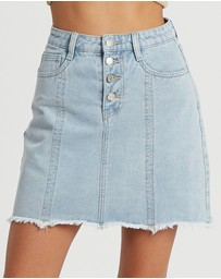 The Fated - Etta Denim Skirt