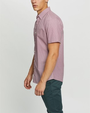 Marcs Kemper Short Sleeve Shirt - Casual shirts (Pink)