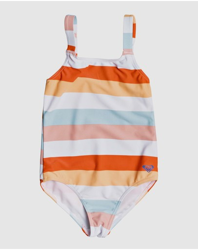 Roxy - Girls 2-7 Jolis Parasols One Piece Swimsuit