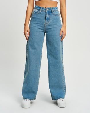 Calli - Harli Jeans - Jeans (Mid Wash Blue) Harli Jeans