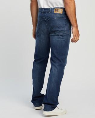 Diesel Waykee Straight Jeans - Jeans (Mid Blue)