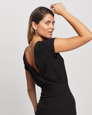 Atmos&Here Mis Mini Dress - Dresses (Black)
