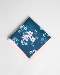 Ben Sherman - Floral Printed Pocket Square
