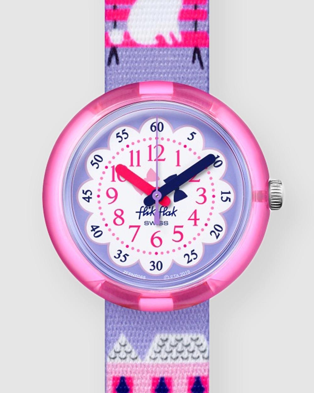 Flik Flak MISS POODLE Watches Purple