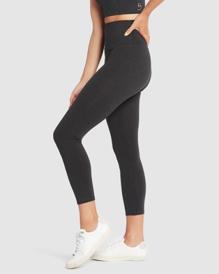 Nimble Activewear - Studio High Rise Tights 7/8 (Charcoal)