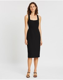 BY JOHNNY. - Twist Back Midi Dress