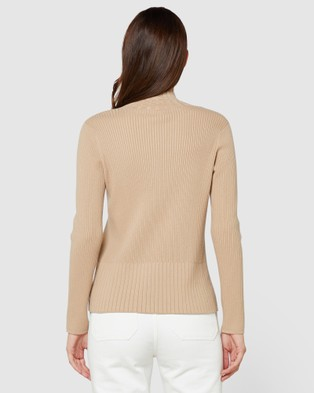 Elka Collective Carson Knit - Jumpers & Cardigans (Camel)
