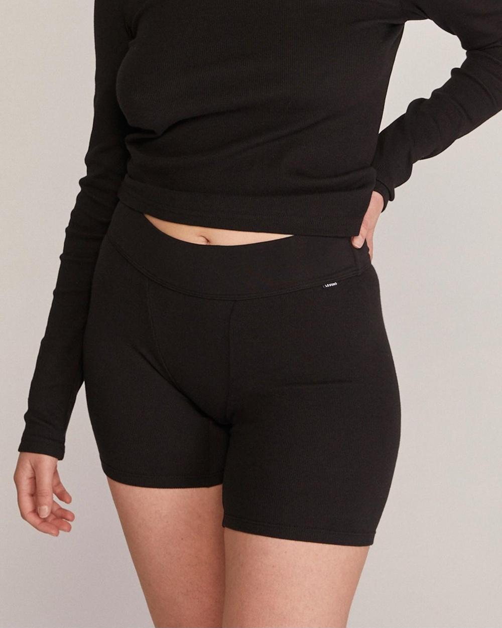 Le Buns Taylor Lounge Shorts Black Australia