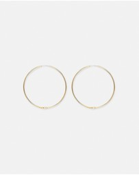 By Charlotte - Pearl Day Dream Hoop Earrings