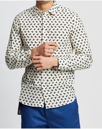 Kenzo - Ikat Mini All-Over Print Slim Shirt