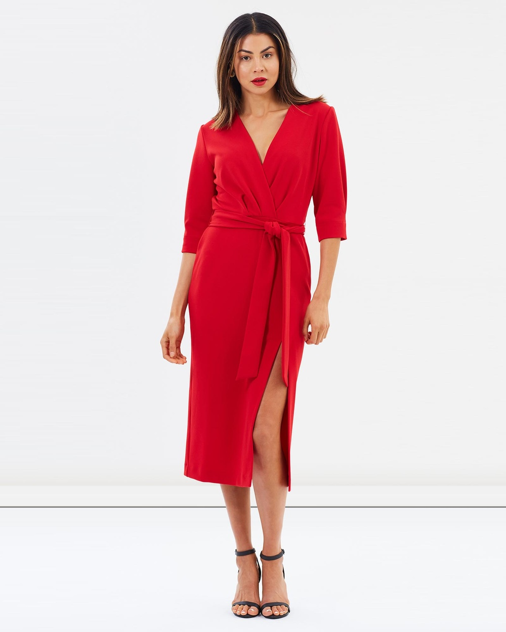 Jewels + Grace Adelle Dresses Red Adelle