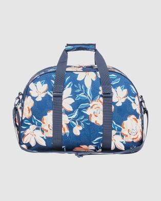 Roxy Feel Happy 35L Medium Sports Duffle Bag - Duffle Bags (MOOD INDIGO HAPPY DA)