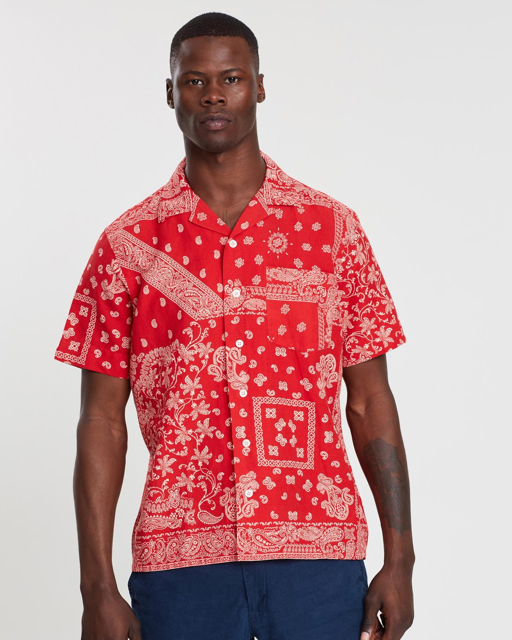 f8cfc141b Bandana Print Vacation Short Sleeve Shirt by Polo Ralph Lauren Online