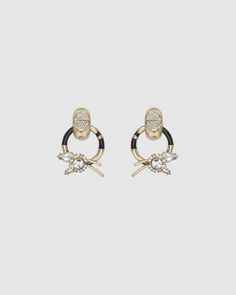 Kitte Decadence Earrings Jewellery Gold
