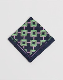Scotch & Soda - Classic Printed Pocket Square