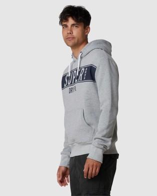 Superdry SDRY Panel Hood - Sweats (Grey Marle)