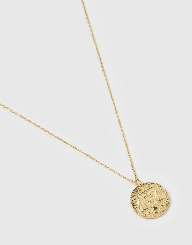 Women Star Sign Necklace Libra
