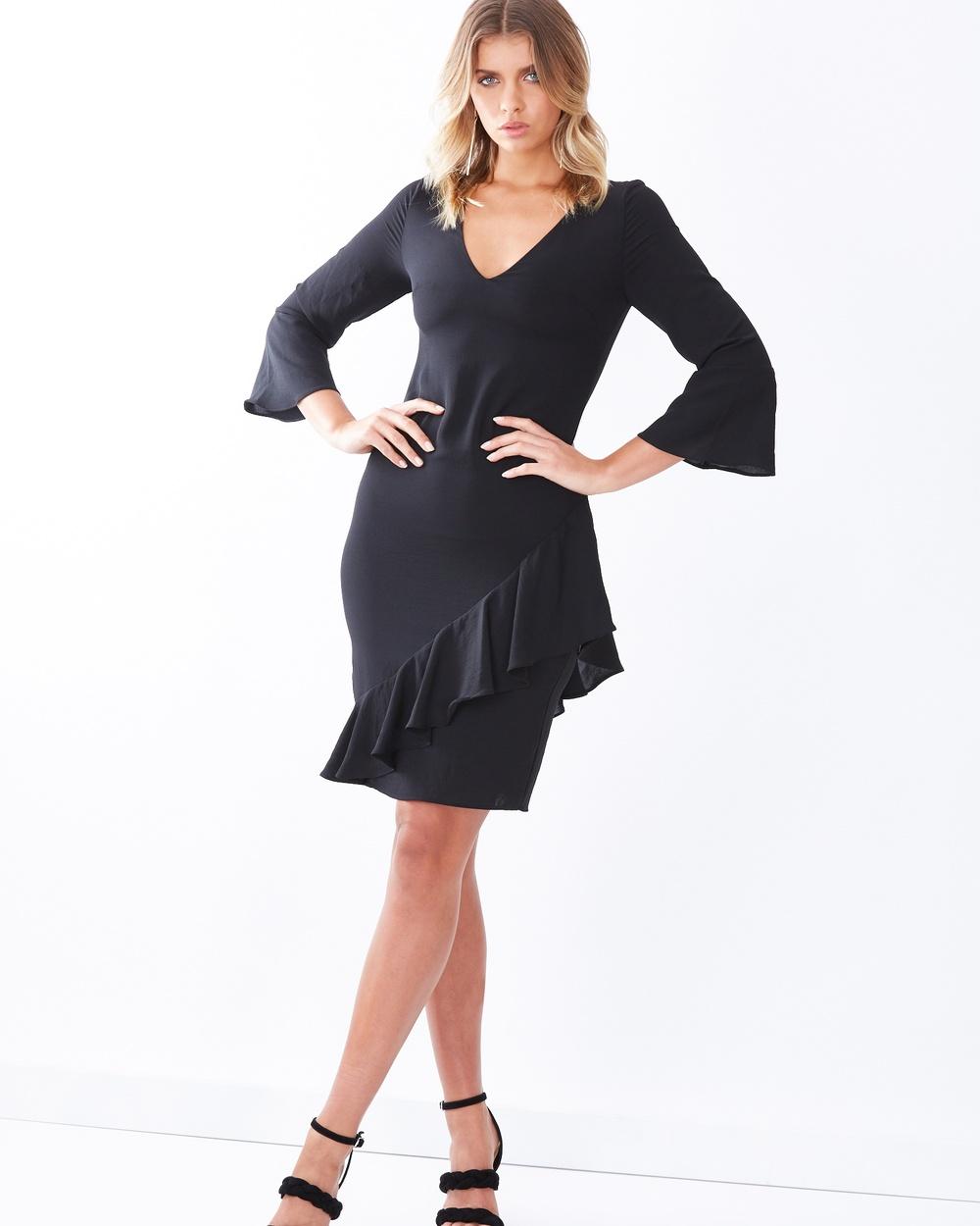 Tussah Varna Dress Dresses Black Varna Dress