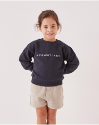 Assembly Label - Logo Fleece - Kids