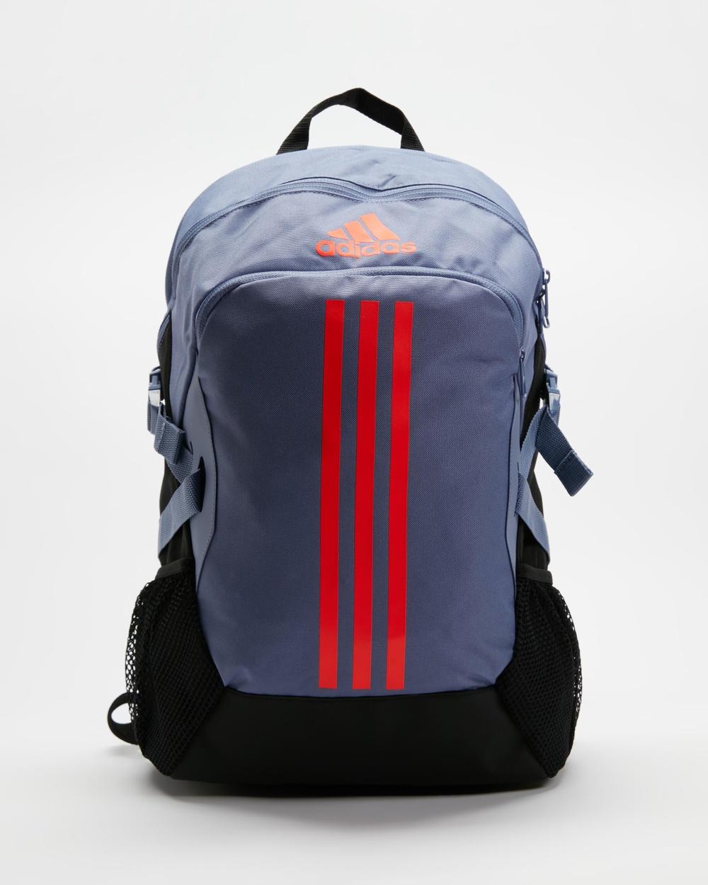 adidas Performance Power 5 Backpack Backpacks Orbit Violet & App Solar Red