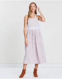 Free People - Colour Theory Midi Dress