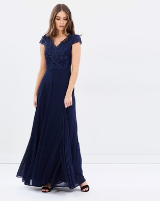 Review – Eternity Maxi Dress – Bridesmaid Dresses Navy