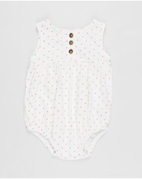 Cotton On Baby - Craigelina Singlet Bubbysuit - Babies