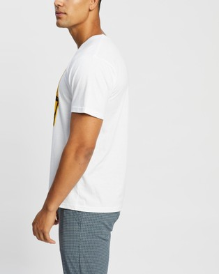 Brixton - Gondola X SS Standard Tee T-Shirts & Singlets (White)
