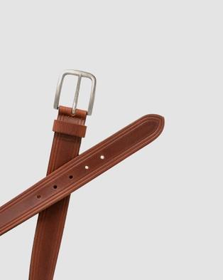 Loop Leather Co Flinders - Belts (Mid Tan)