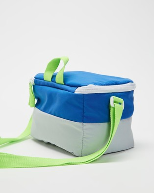 Cotton On Kids Lunch Bag   Kids - Home (Retro Blue & Grey)