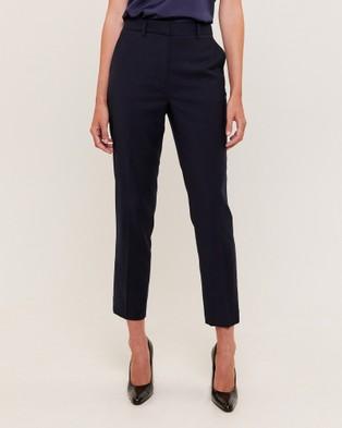 SABA Celeste Wool Suit Pants - Pants (blue)