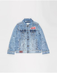 Abercrombie & Fitch - DIY Denim Jacket - Teens
