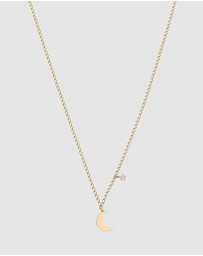 Luna Rae - Solid Gold - Luna Necklace