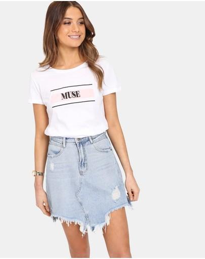 6f65de23f Denim Skirts   Buy Mini, Midi & A Line Denim Skirts Online Australia- THE  ICONIC