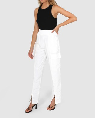 BY.DYLN Josephine Pants - Pants (White)