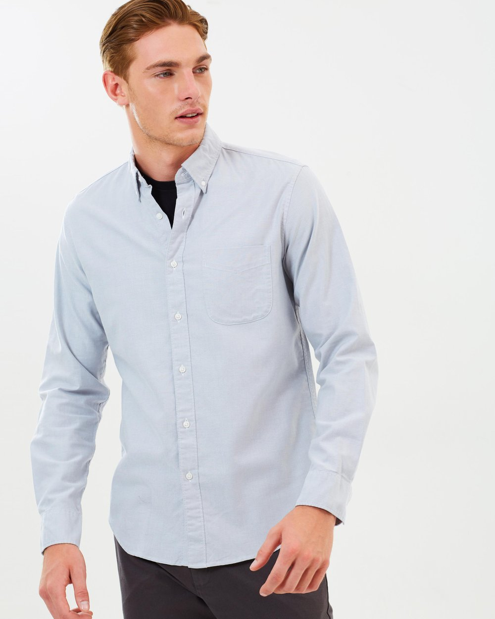 88aee834f5bf0 Slim Stretch American Pima Cotton Oxford Shirt by J.Crew Online ...