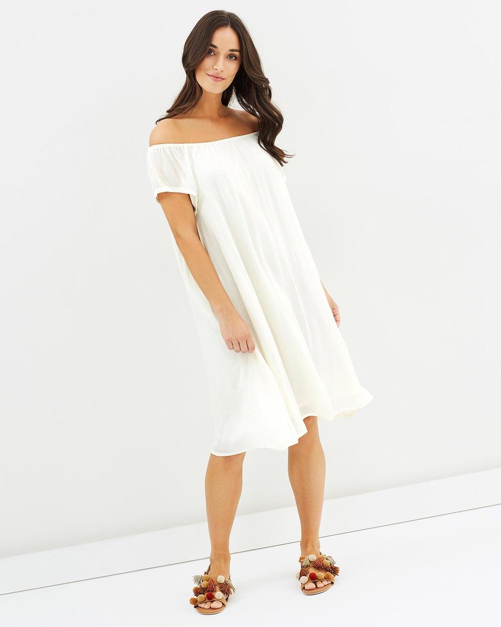 Kaja Clothing Ashey Dress Dresses White Ashey Dress