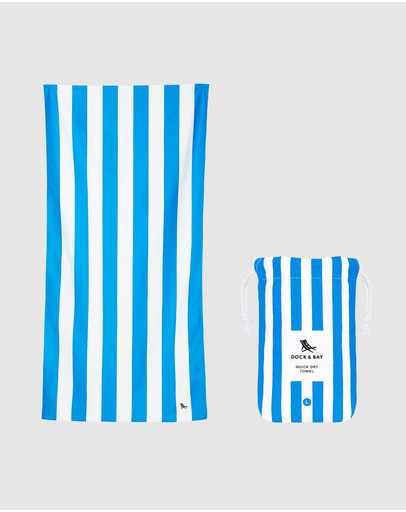 Dock & Bay - Large Quick Dry Beach Towel - 160cm