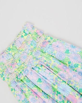 Free by Cotton On Megan Sleeveless Dress   Teens - Printed Dresses (Lemon Drop & Retro Floral)