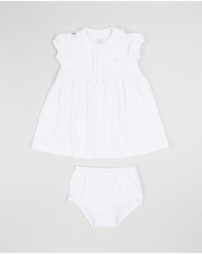 Polo Pima Knit Dress - Babies