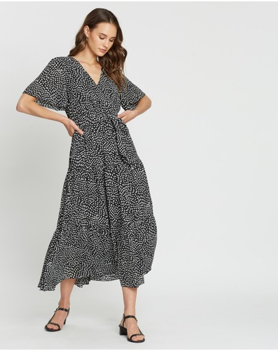 Atmos&Here - Flutter Sleeve Dress
