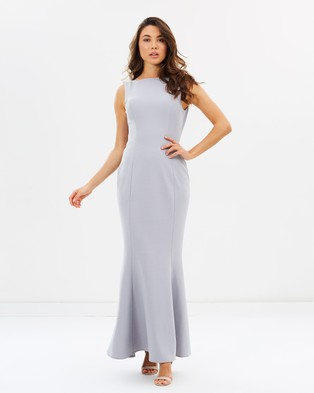 Grace & Hart – Eternal Obsession Gown – Bridesmaid Dresses Silver