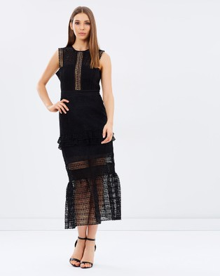 Kitchy Ku – Pretty Polly Dress – Dresses (Black)