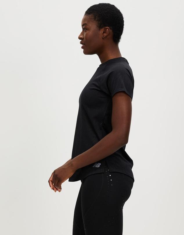 Women Q Speed Fuel Jacquard Short Sleeve Tee