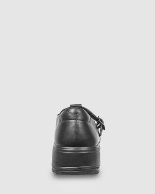 Ascent Eve - School Shoes (Black)