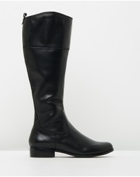 Atmos&Here - ICONIC EXCLUSIVE - Leila Leather Boots