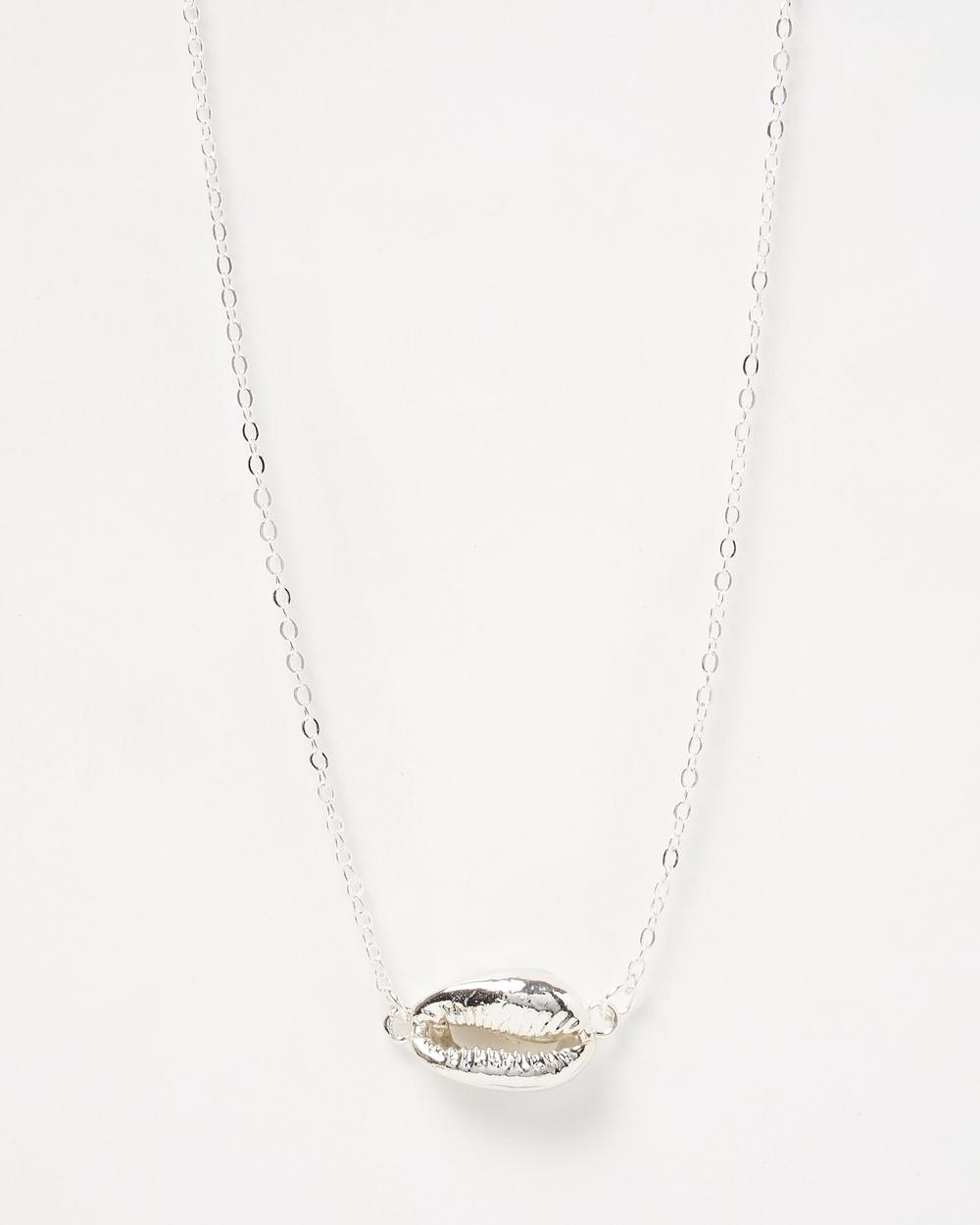 Miz Casa and Co Arue Island Necklace Jewellery Silver