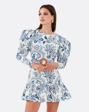 TORANNCE Edie All Day Dress - Printed Dresses (Blue)