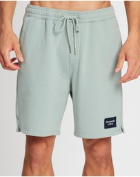 Abercrombie & Fitch - Patch Logo Shorts